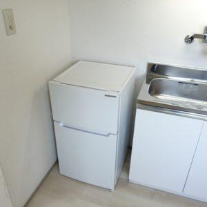 冷蔵庫を設備として設置