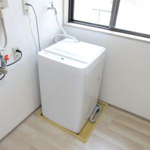 洗濯機を設備として設置